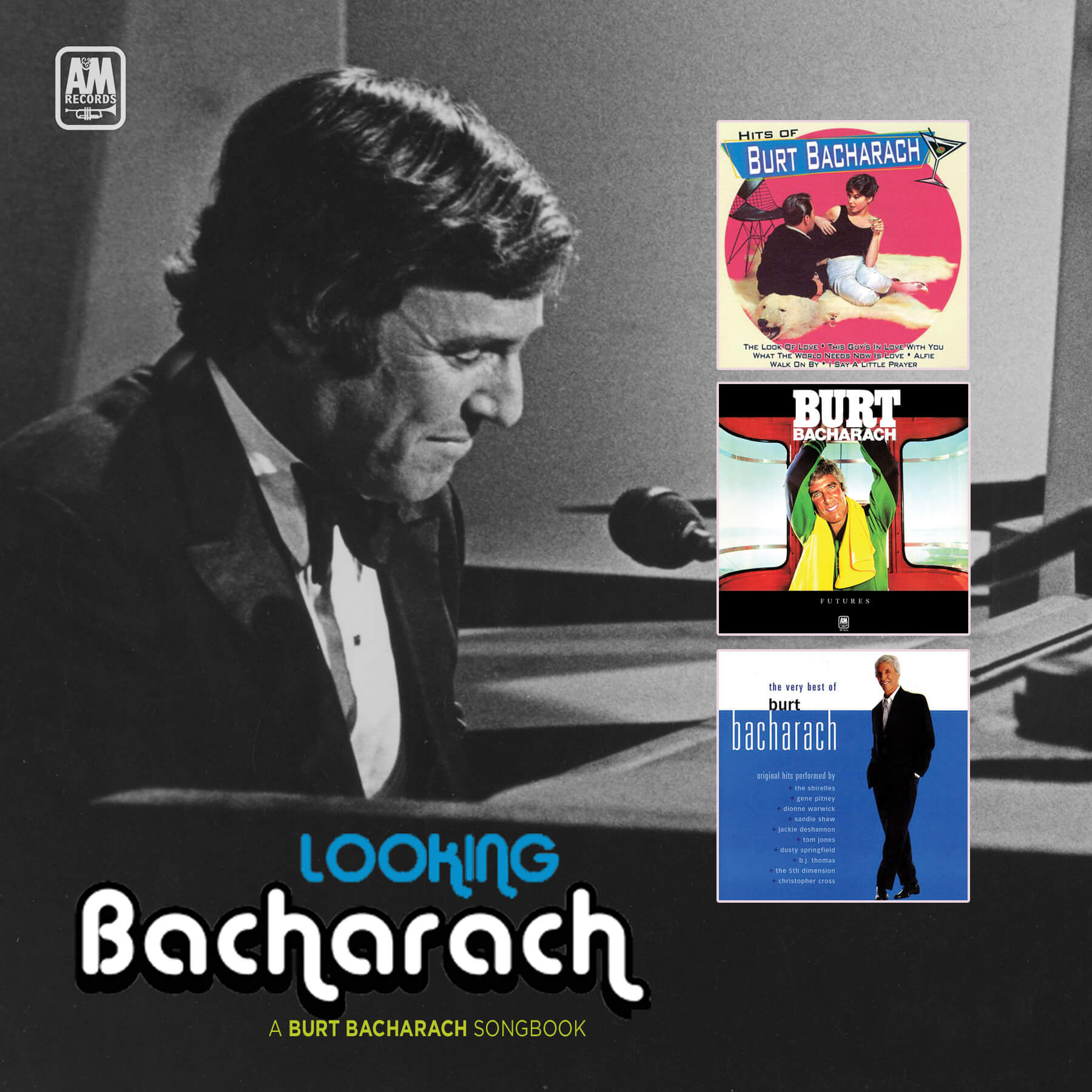 Looking Bacharach Cover